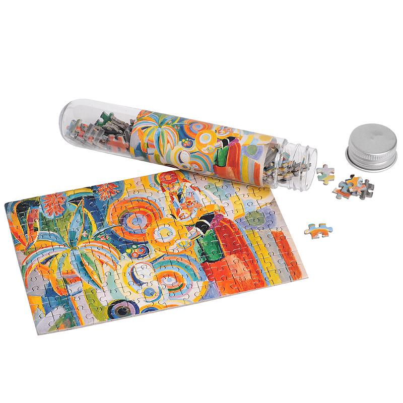 """zoom Micropuzle """"La portuguesa"""" de Delaunay"""