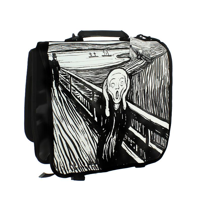 zoom Alforja para bicicleta El Grito de Edvard Munch