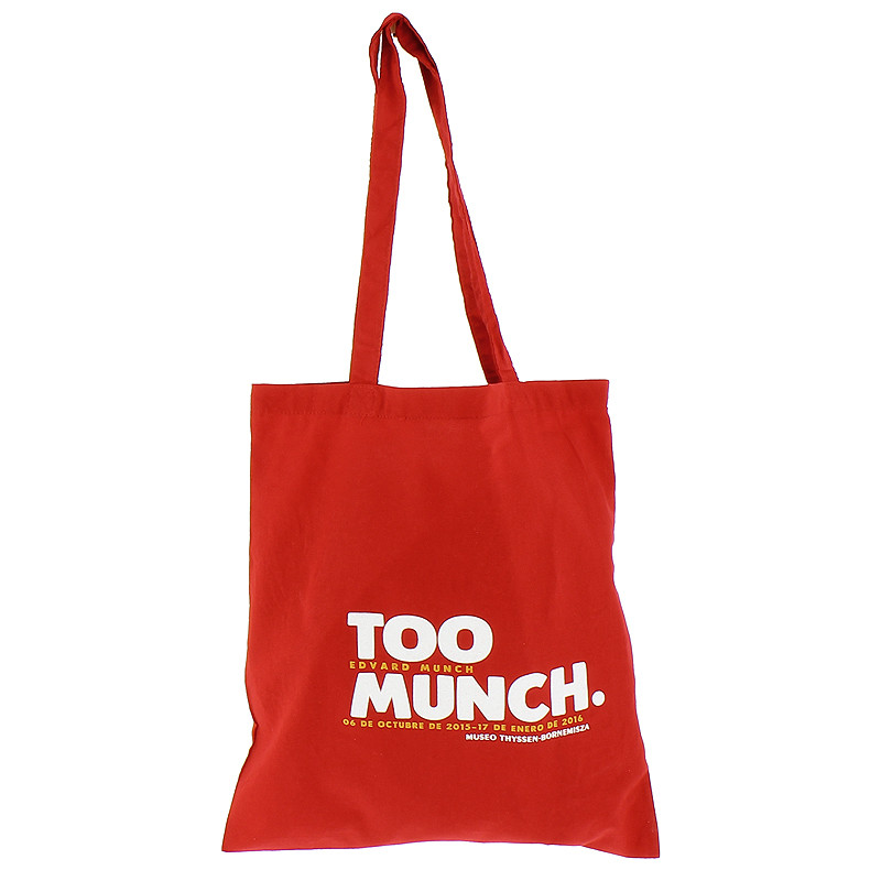 zoom Bolsa roja de tela Too Munch