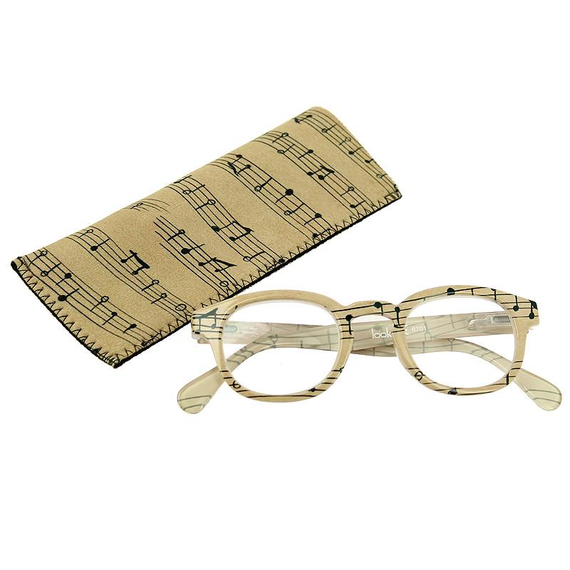 "zoom Gafas graduadas ""Partitura"" Caravaggio"