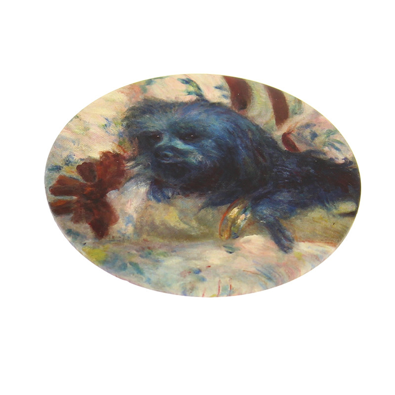 "zoom Espejo ""Charlotte Berthier"" Renoir"