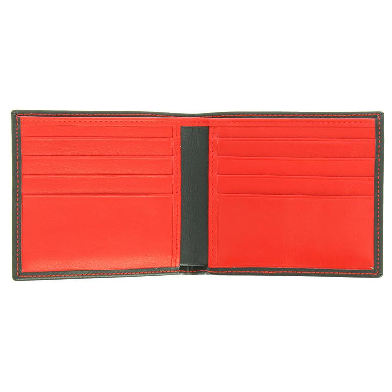 zoom Cartera bolsillo negro y rojo