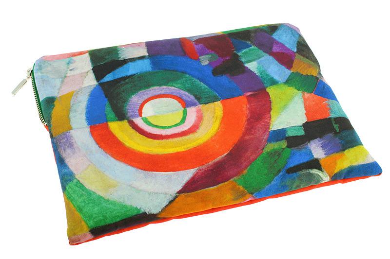 """zoom Funda para tablet """"Prosa transiberiana"""" de Sonia Delaunay"""