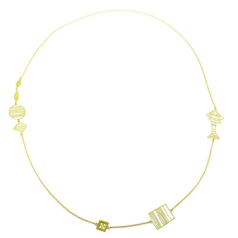 zoom Collar Paul Klee: Bodegón con Dado
