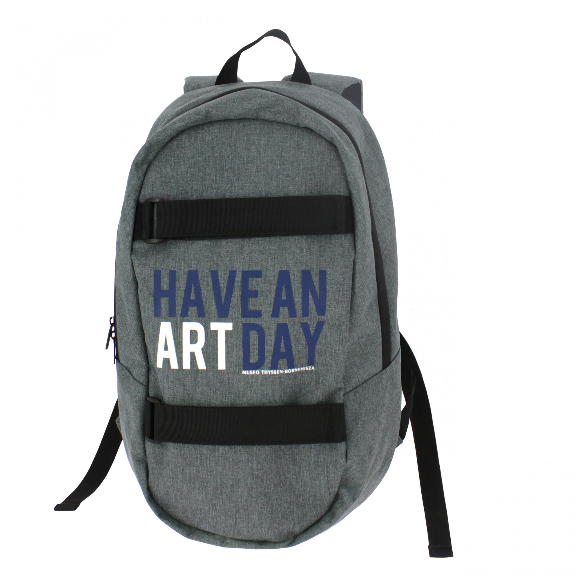 "zoom Mochila gris ""Have an art day"""