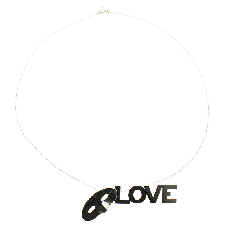 zoom Colgante de plata Love, Love, Love