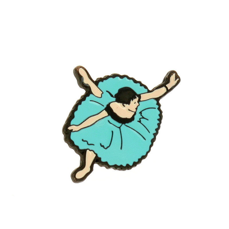 zoom Pin Bailarina de Degas