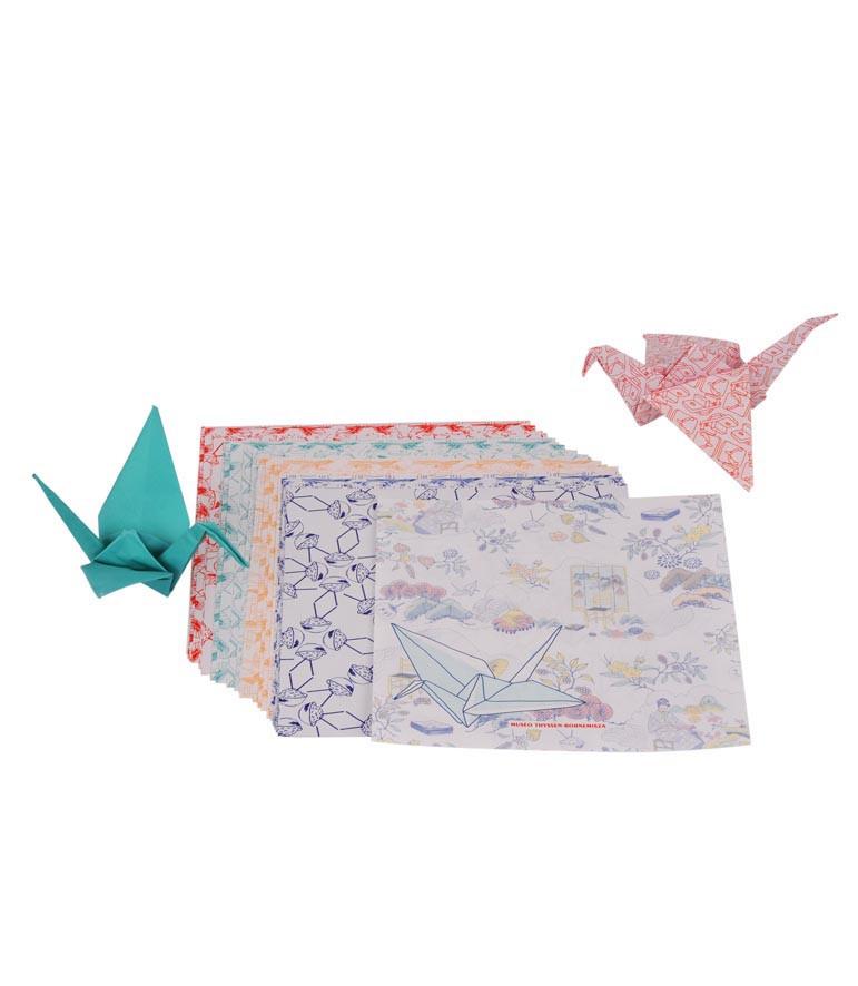 zoom Juego Origami El quimono
