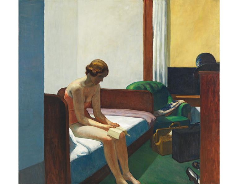 zoom Lámina Habitación de Hotel. Hopper