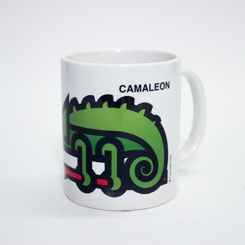 zoom Taza Camaleón Cruz Novillo
