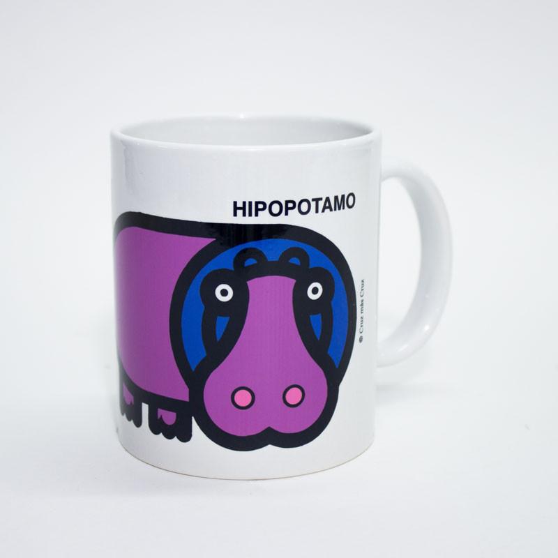 zoom Taza Hipopótamo Cruz Novillo