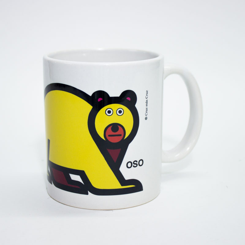 zoom Taza Oso Cruz Novillo