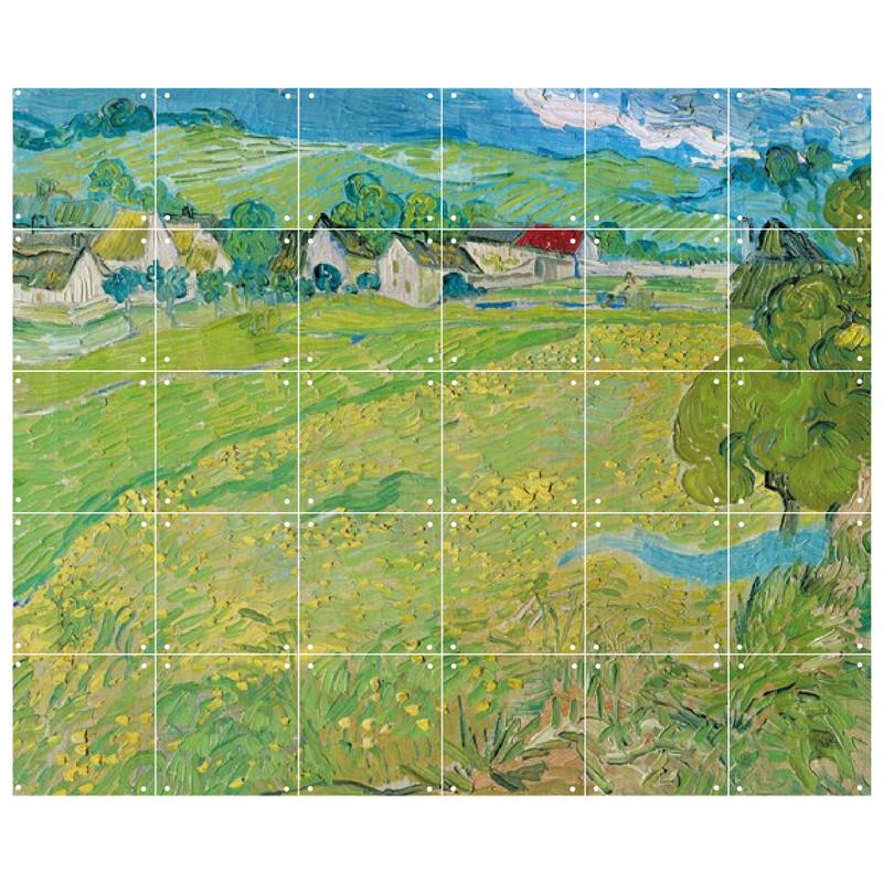 zoom Decoración mural IXXI 120 X 100 Les Vessenots en Auvers Vincent van Gogh