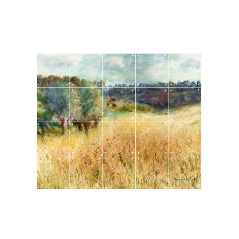 zoom Decoración mural IXXI 100 X 80 Campo de trigo Renoir