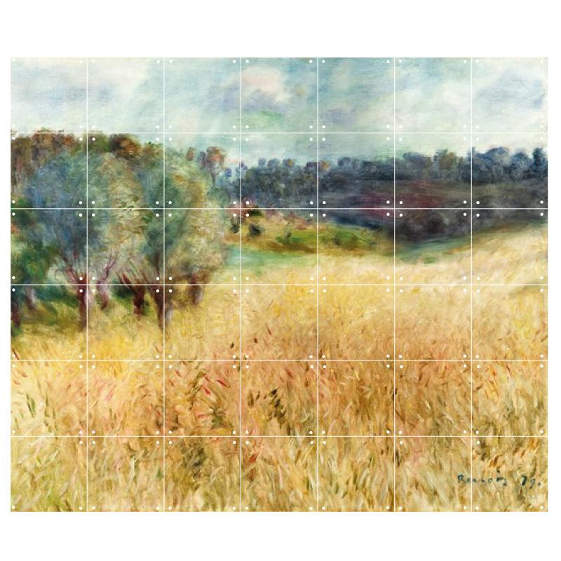 zoom Decoración mural IXXI 140 X 120 Campo de trigo Renoir