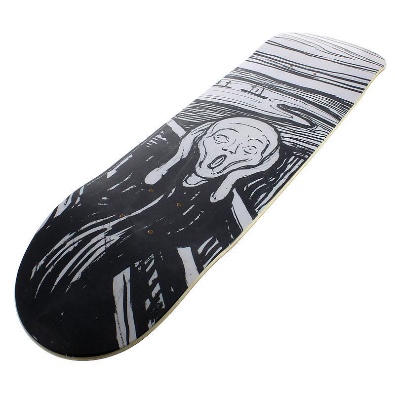zoom Tabla Skate El Grito de Edvard Munch