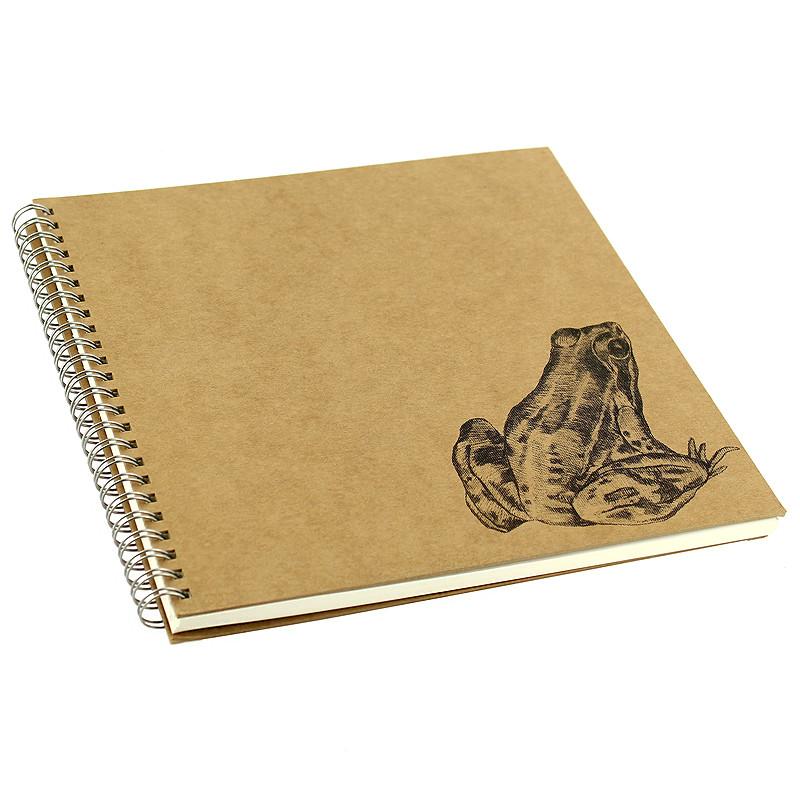 """zoom Cuaderno de dibujo """"Rana"""" de Caravaggio"""