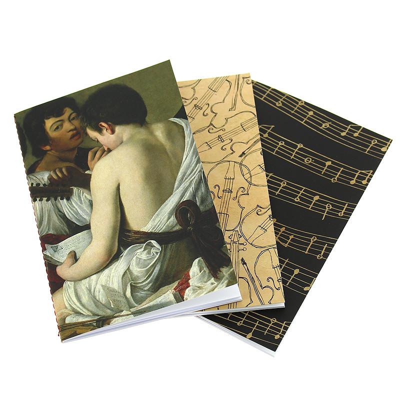 zoom Pack 3 libretas Caravaggio
