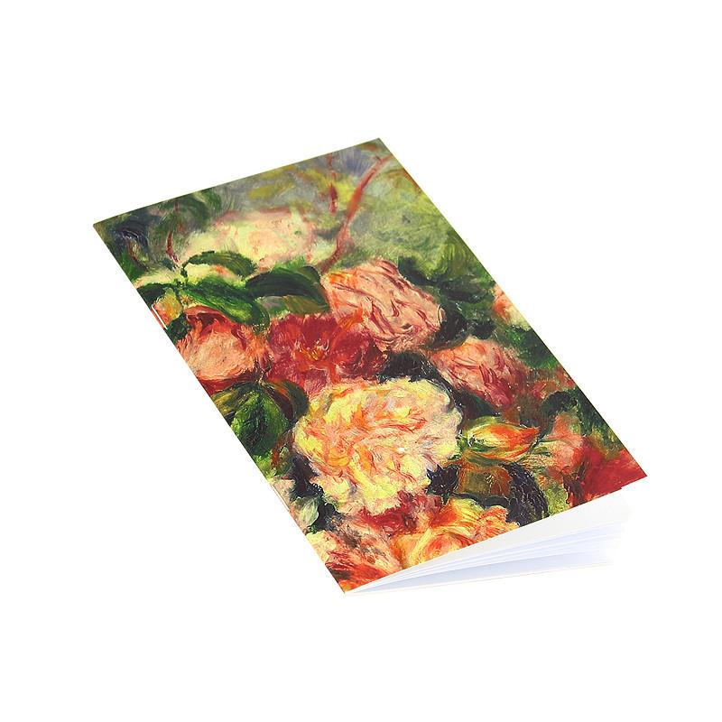 """zoom Libreta Renoir """"Rosas en Jarrón"""""""