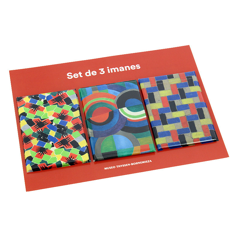 zoom Set 3 imanes Sonia Delaunay