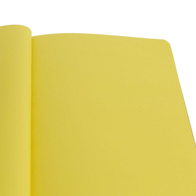 zoom Libreta rojo burdeos páginas color mostaza
