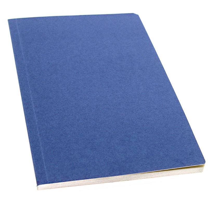 zoom Libreta azul páginas arena