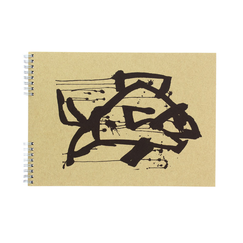 zoom Bloc dibujo pez negro Joan Jonas