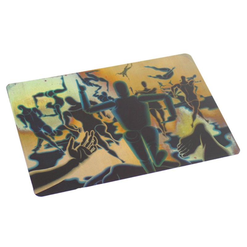 zoom Postal cobre Hombre en Movimiento Vasarely