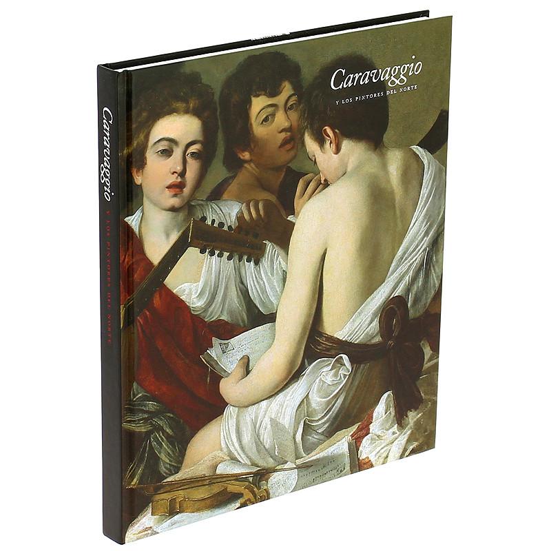 """zoom Catálogo """"Caravaggio y los pintores del norte"""" (español, tapa dura)"""