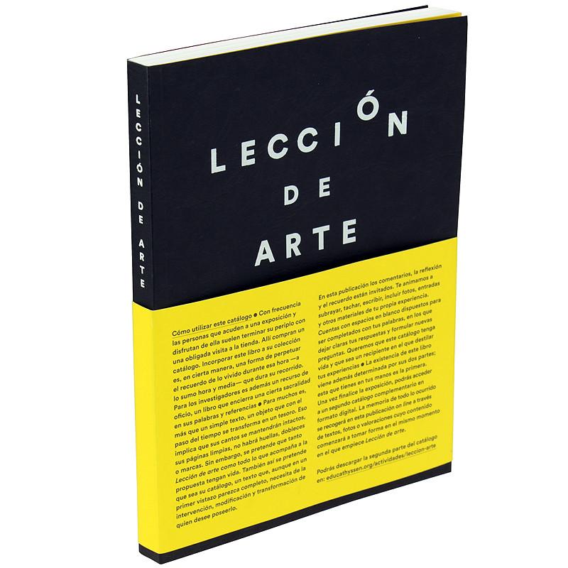 zoom Catálogo de la exposición Lección de arte