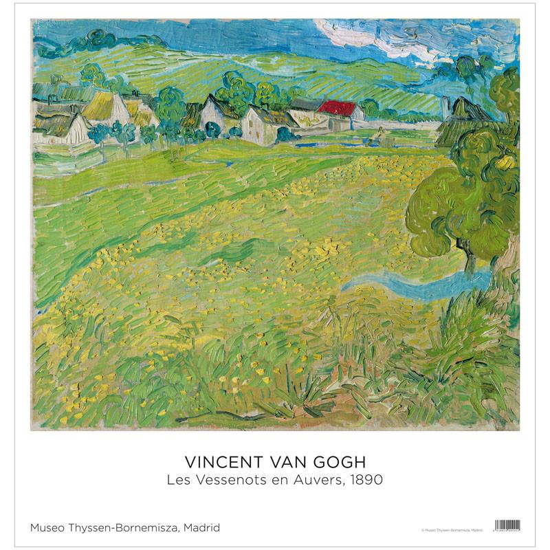 zoom Póster Vincent van Gogh: Les Vessenots en Auvers