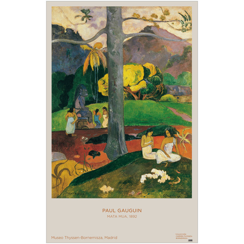 zoom Póster Paul Gauguin: Mata Mua