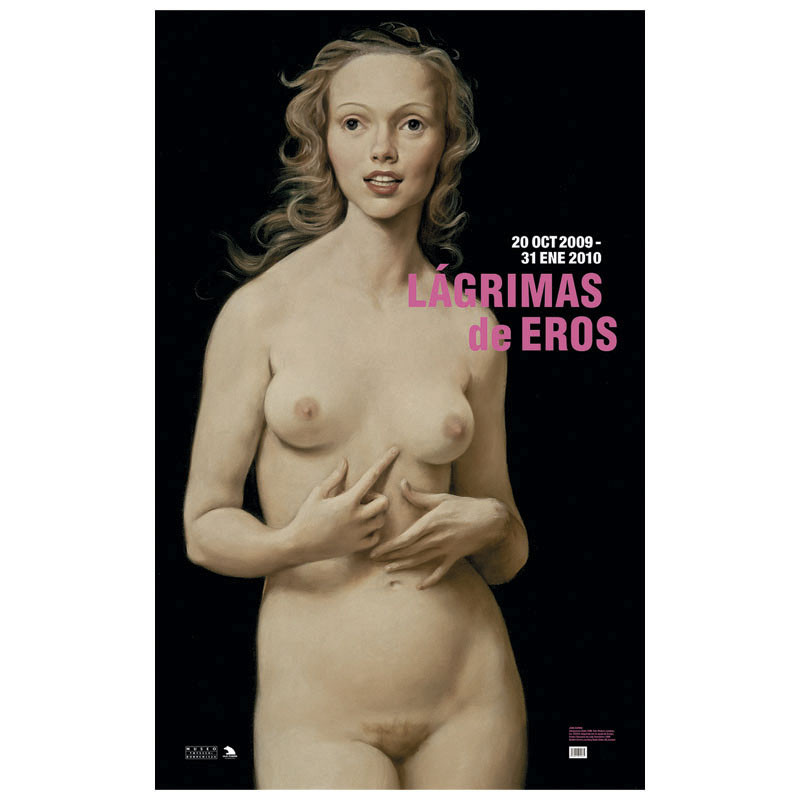 zoom Póster Honeymoon Nude de John Currin