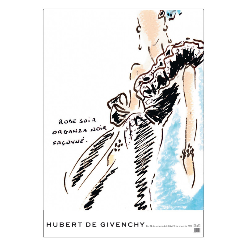 zoom Poster boceto Givenchy