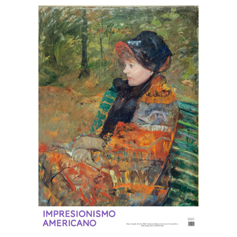 zoom Póster Impresionismo Americano: Otoño