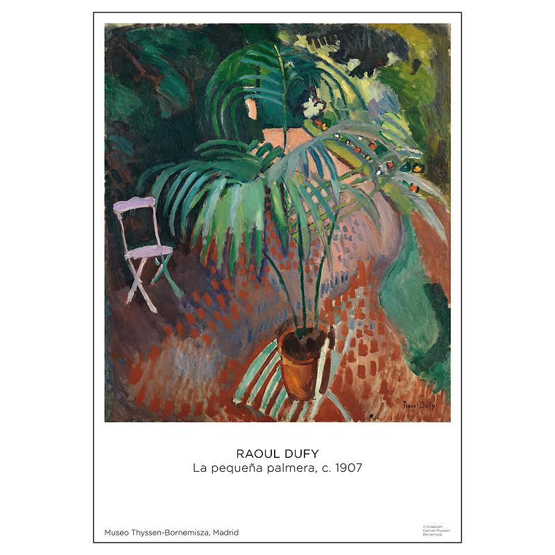 zoom Póster Raoul Dufy: La pequeña palmera