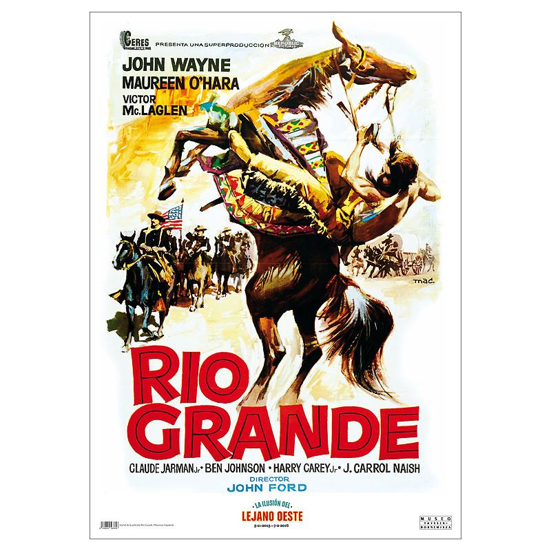 "zoom Póster ""Rio Grande"""