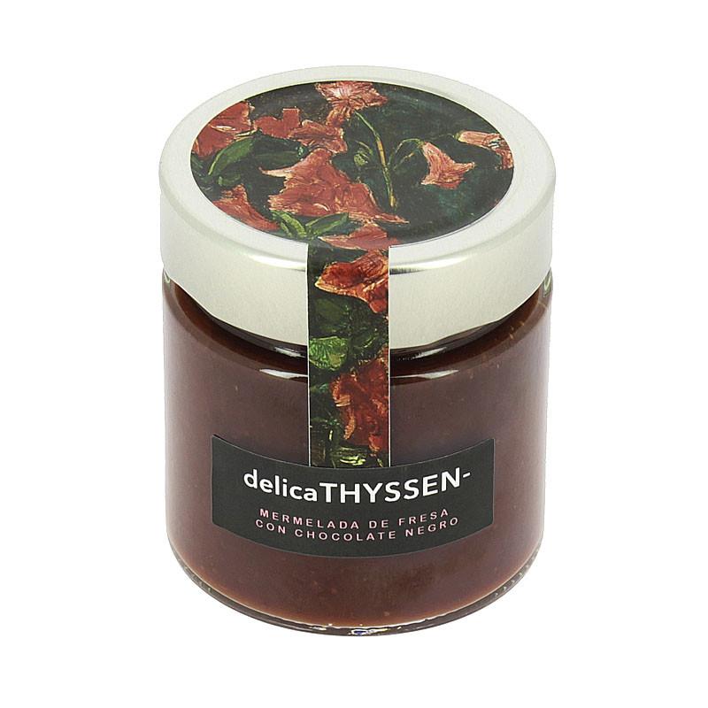 zoom Mermelada de fresa y chocolate Delicathyssen