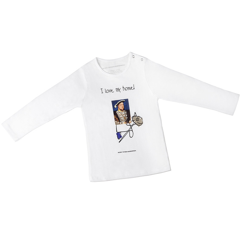 zoom Camiseta infantil Enrique VIII