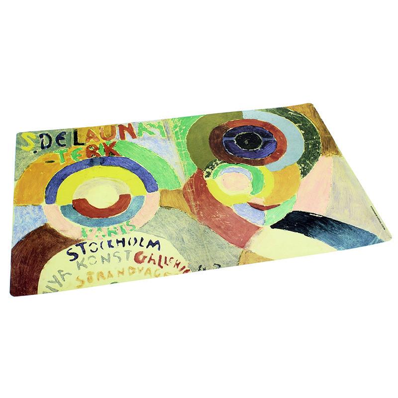 """zoom Mantel individual Sonia Delaunay """"Diseño para la cubierta"""""""
