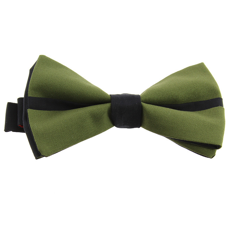 zoom Pajarita reversible Verde + Negro / Verde El fumador de Juan Gris