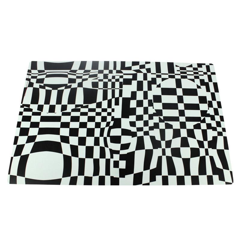 zoom Mantel individual cuadros Vasarely