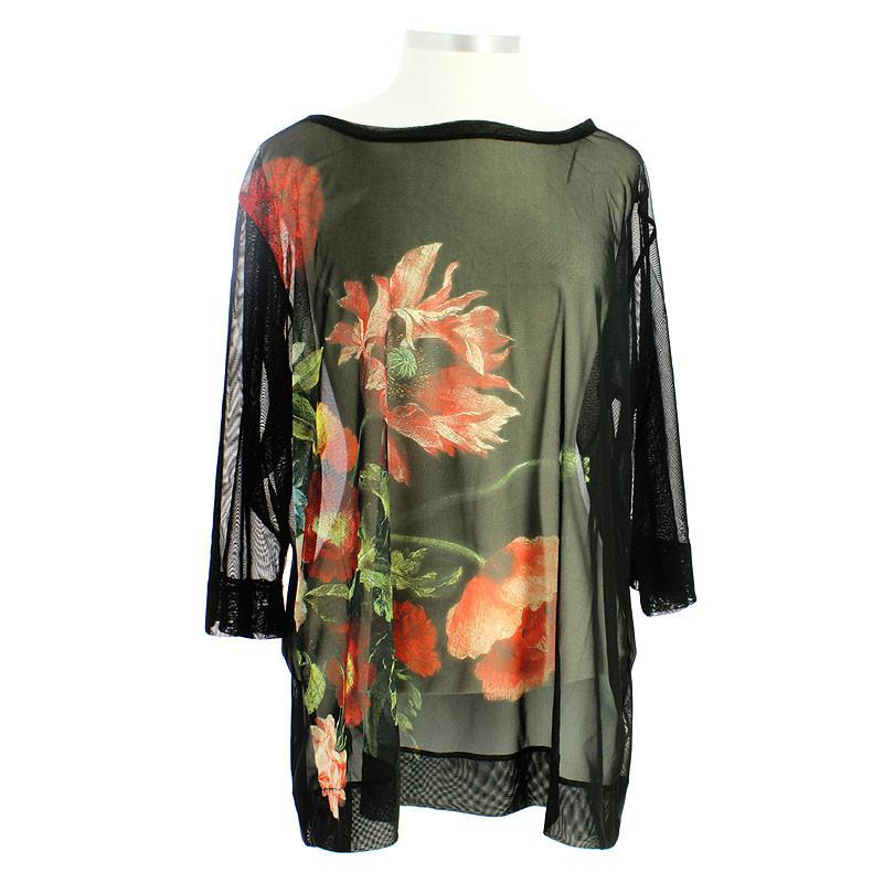 zoom Camiseta Flores de Jacques Linard