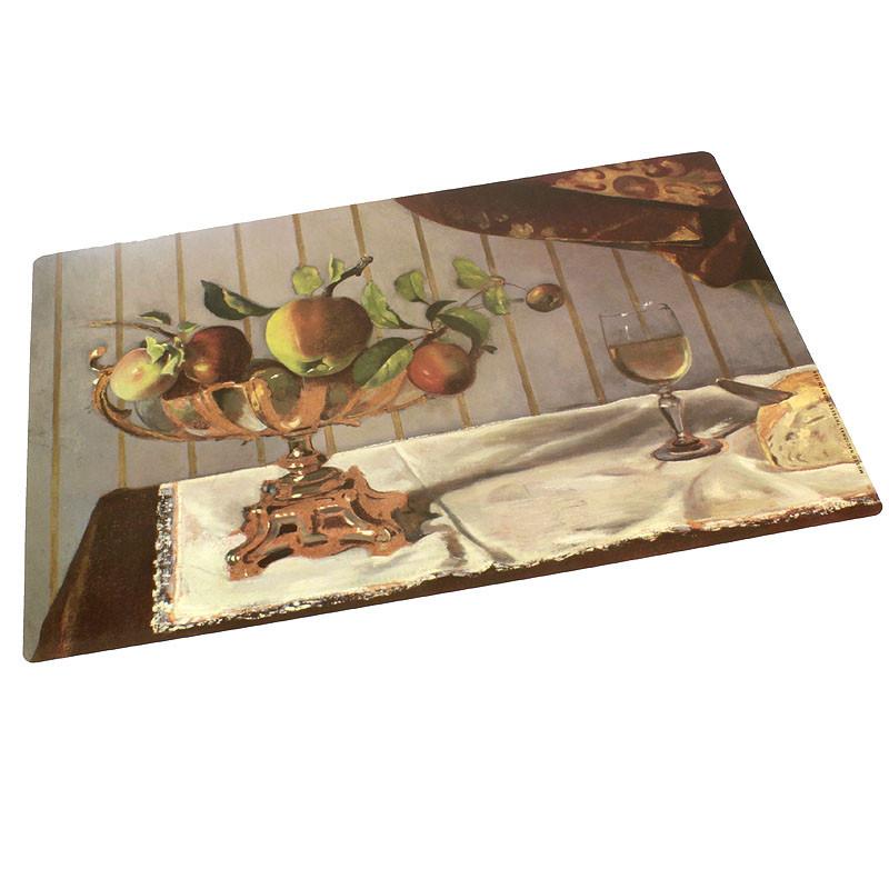 zoom Mantel Individual Bodegón con Figura Balthus