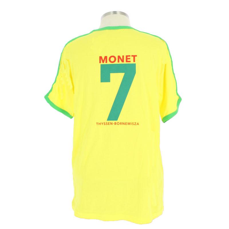 zoom Camiseta futbol Monet