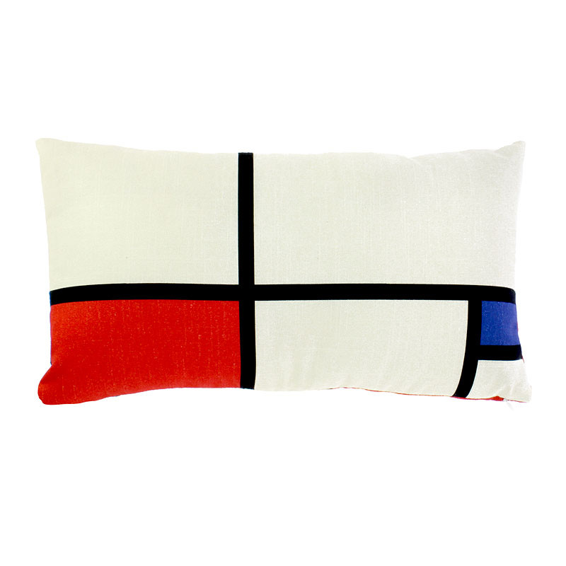 zoom Funda de cojín Mondrian 45 x 25 cm