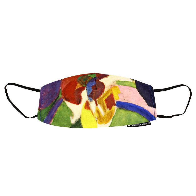 zoom Mascarilla Robert Delaunay Mujer con sombrilla
