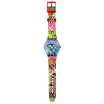 Reloj Swatch x Thyssen Franz Marc Sleepy Garden