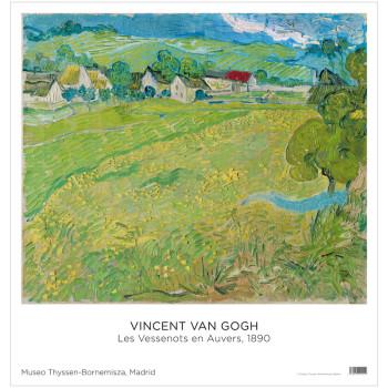 Póster Vincent van Gogh: Les Vessenots en Auvers