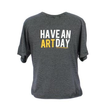 "Camiseta a rayas ""Have An Art Day"""